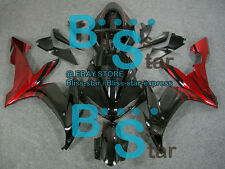 Black Red INJECTION Fairing Bodywork Kit Yamaha YZFR1 YZF-R1 2004-2006 17 B6