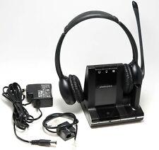Plantronics Savi W720 Black Headband Headsets