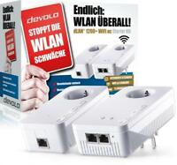 DEVOLO dLAN 1200+ WiFi ac Starter Kit Weiss Powerline WLAN 9390 LAN / WLAN - neu