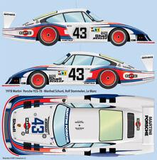 1978 Martini Porsche 935-78 Le Mans 1/24 scale water transfer decals - Tamiya