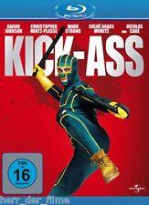 KICK-ASS (Aaron Johnson, Nicolas Cage) Blu-ray Disc NEU+OVP