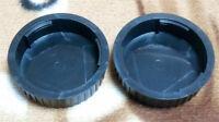 2 x Nikon F Rear Lens Cap FE F5 D5200 D610 D7000 D4 D3300 D810 D3
