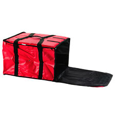 """QUALITY Insulated Food Delivery Bag HOLDS 5   16"""" PIZZA - NYLON BAG !"""