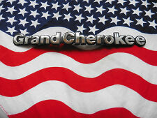 US JEEP GRAND CHEROKEE Chrysler Auto Car Emblem Schriftzug Typ Type Modell USA I