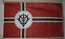 Principality of Zeon of Mobile Suit Gundam 3'x5' Red Flag USA Seller Shipper
