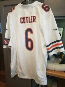 NWT Nike Men's Game Football Jersey NFL Chicago Bears JAY CUTLER MEN'S SIZE XL