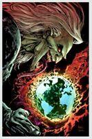 Web of Venom Empyres End #1 VIRGIN KEN LASHLEY thor knull crain hulk king black