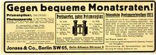 Jonass & Co.Berlin Konsum-Artikel Versandhandel & Ratenzahlung von 1913 (2)