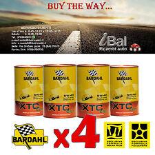 OLIO MOTORE XTC C60 5W-40 BARDAHL 4L (3+1 OMAGGIO) TAGLIANDO AUTO - 334040