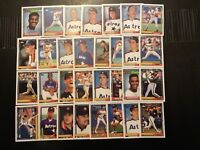 1992 Topps HOUSTON ASTROS Complete Team Set (30) BAGWELL RC-GONZALEZ RC Look!