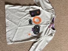 Girls 4-5 Years Halloween Long Sleeve Top, New With Tags