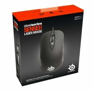 SteelSeries Sensei Raw Laser Gaming Mouse USB (Rubberised Edition) PC/MAC 62155