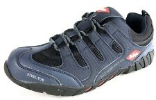 Lee Cooper Workwear Men's Steel Toe Safety Trainer Shoes LC008 Navy