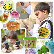 2 5 10 Medium Mini Soft Squishy Bread Toys Key Phone Chain Stress Relief Toys