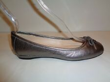 Vince Camuto Size 7 M RIA Moonrock Leather Loafers Ballet Flats New Womens Shoes