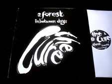 THE CURE/A FOREST/IN BETWEEN DAYS/MAXI 45T/FICTION/PROMO/UK PRESS/TZ