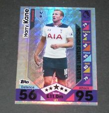Topps Premier Gold 2016 Harry Kane Tottenham brillo de la base de paso
