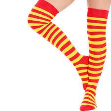 Chaussettes jaunes coton pour femme