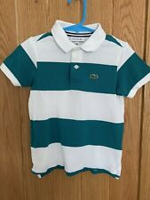 Boys Lacoste Polo Tshirt Age 3-4