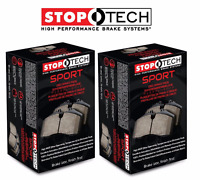 Stoptech Sport Front + Rear Brake Pads Fits Nissan 350Z G37 Non-Sport 330mm disc