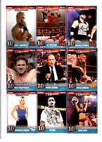 TNA TENacious 2012 Tristar Complete 100 Card Base Set Hardy Hogan Flair Sting