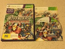 Marvel Adventures Battle for Earth *requires kinetic* - Microsoft Xbox 360 Game