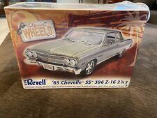 Revell 1965 Chevelle SS 396 Z-16 2n1 85-2060.  New/Factory Sealed