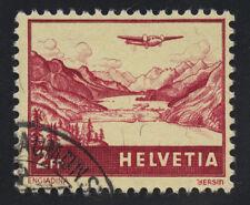 01867 Switzerland Scott #C33 2 Francs airmail used