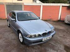 BMW E39 520i SE AUTO 5 SERIES SALOON - PETROL. VERY LOW MILEAGE, IMMACULATE
