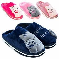 Pantofole donna ciabatte babbucce morbide GATTO GATTINO scarpe TOOCOOL MD0810