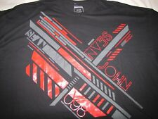 NWT Men's Sean John Big & Tall Size Short Sleeve T-Shirt 5XB  Color - Black
