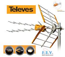 Antenna TV esterna digitale terrestre TELEVES UHF V Zenit21 60 filtro LTE 149202