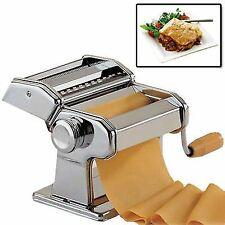 New 3 In 1 Pasta Lasagne Spaghetti Maker Machine Stainless Steel Cutter Blades