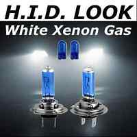 H7 501 55w White Xenon HID Look Headlight High Main Beam Bulbs Road Legal