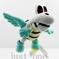 15cmSuper Mario Bro Flying Winged Dry Bones Plush Stuffed Doll Toy Soft Kid toy