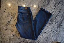 Guess Daredevil Boot Cut Low Rise Womens Denim Blue Jeans size 27 x 30