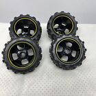 Bright Baja Buggy 4X4 Yellow Wheel RC Truck 4 Wheels Front Rear Tires