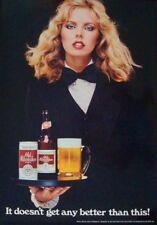 Old Milwaukee Beer 1980 vintage advertising poster 20x30 Nm