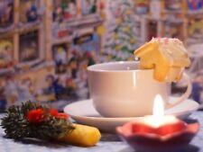 Taza Mini Casa De Pan De Jengibre Navidad Galletas Repostería Fondant Glaseado Cortador De Galletas