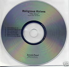 RELIGIOUS KNIVES The Door  6-trk PROMO CD Sonic Youth