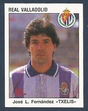 "PANINI FUTBOL 93-94 SPANISH -#334-REAL VALLADOLID-JOSE L FERNANDEZ ""TXELIS"""