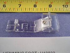 Clear Hemming Foot Singer QuantumLock 14T948,14T957,14T967,14T968DC Professional