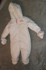 Girls French Toast 1pc SnowSuit Size 6-9mos NWT
