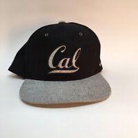 California Cal Golden Bears Zephyr Flat Bill Snapback Baseball Cap Hat
