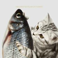 Cat Toy Interactive Motion Play Electronic Pet Toy Fish Dancing Funny Sensi K9K2