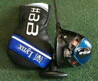 Lynx Golf #BB Adjustable Driver With An Aldila RIP NV 65 Reg Shaft R/H Brand New