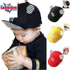 Fashion Cotton Toddler Child Baby Infant Boy Girl Beret Sun Cap Baseball Hat New