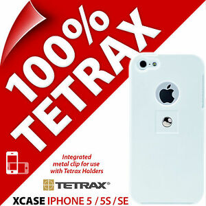 Tetrax Xcase for Apple iPhone 5 / 5S / SE Protective Case Integrated Clip Cover