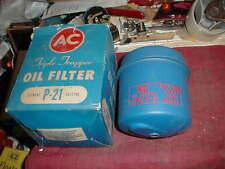 NOS AC MOPAR 1933-59 DISPOSABLE OIL FILTER & HOUSING MOST 6 CYLINDER ENGINES