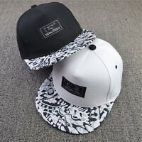 Fashion Men Women Snapback Adjustable HipHop Bboy Baseball Cap Flat Peaked Hats